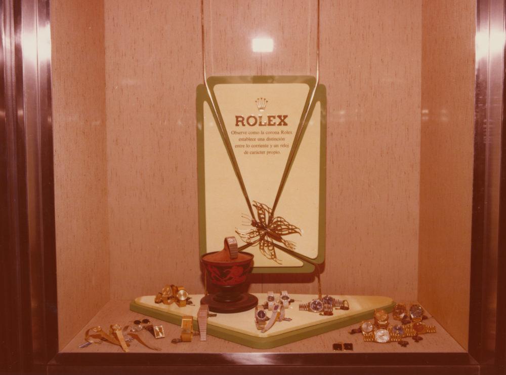 Primera exposición Rolex