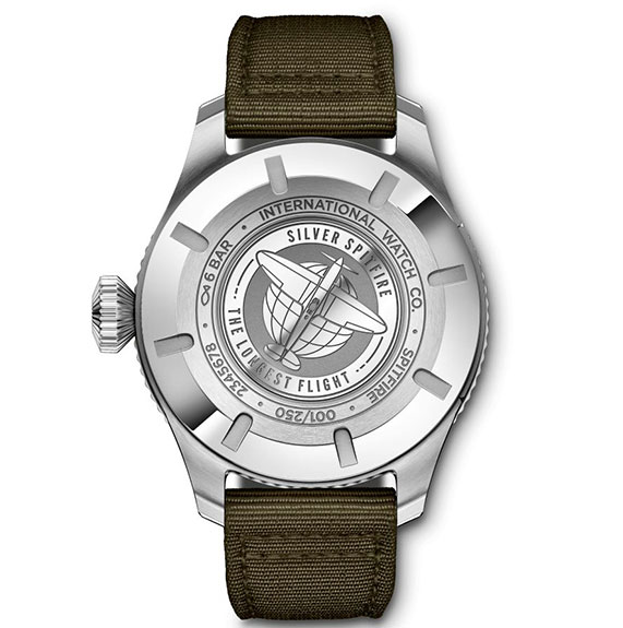 IW395501 RELOJ DE AVIADOR TIMEZONER SPITFIRE EDICIÓN «THE LONGEST FLIGHT»