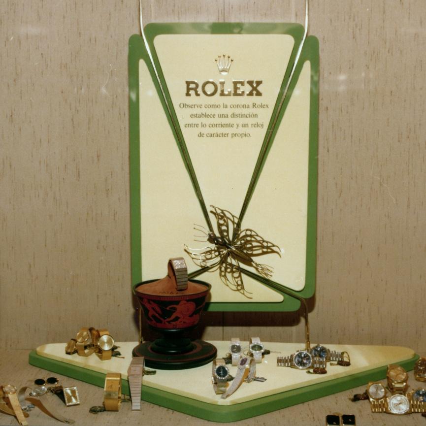 En 1960 se crea la primera joyería