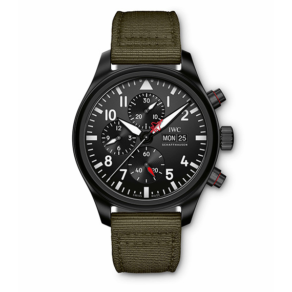 MONTRE D'AVIATEUR CHRONOGRAPHE TOP GUN EDITION «SFTI» IW389104